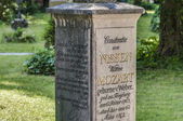 Mozart family mausoleum at Salzburg, Austria — Stock Photo