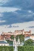 Hohensalzburg zamek (festung hohensalzburg) w Salzburgu, austri — Zdjęcie stockowe