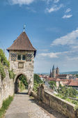 Neckarhaldentor in Esslingen am Neckar, Germany — Foto Stock