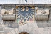 Wieza wolfstor w esslingen am neckar, niemcy — Zdjęcie stockowe