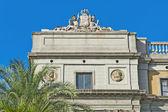 Reial square in Barcelona, Spain — Stock Photo