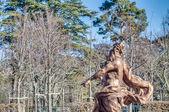скачки фонтан во дворце ла-гранха, испания — Стоковое фото