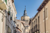 Segovia Cathedral at Castile and Leon, Spain — Foto Stock