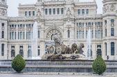 Fontanny cibeles w madrycie, hiszpania — Zdjęcie stockowe