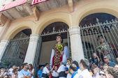 Gegant de la Vila at Festa Major in Sitges, Spain — Stock Photo