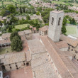 San Gimignano general view in Tuscany, Italy - Stock Photo