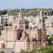 Sacred Heart Parish Church in Rabat, Gozo, Malta. — Stock Photo