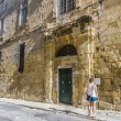 Knight Hall in Vittoriosa (Birgu), Malta - Stockfoto
