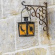 Streetlamp in Vittoriosa (Birgu) Malta — Stock Photo #18814621
