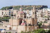 Sacred Heart Parish Church in Rabat, Gozo, Malta. — Stock Photo