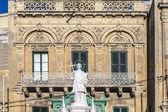 Saint Lawrence at Vittoriosa Square in Birgu, Malta — Stock Photo