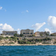 Villa Giovanni Bighi in Kalkara, Malta - Stock Photo