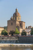 San Frediano in Cestello church in Florence, Italy. — Stock Photo