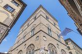 Orsanmichele is a church in Via Calzaiuoli in Florence, Italy. — Stock Photo