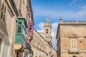 Kościół karmelitów w mdina, malta — Zdjęcie stockowe