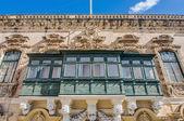 Traditionellen maltesischen Balkon in Valletta, malta — Stockfoto