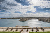 Saluting Battery in Valletta, Malta — Stock Photo
