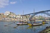 Luis I bridge at Porto, Portugal — Stock Photo