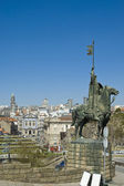 Statue de vimara peres à porto, portugal — Photo