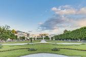 Mirabell Garden (Mirabellgarten) at Salzburg, Austria — Stockfoto