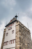 Pliensauturm tower in Esslingen am Neckar, Germany — Stock Photo