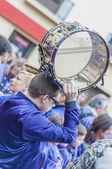 Tamborrada Drum Gathering at Calanda, Spain — Stock Photo
