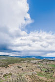 Monroyo village at Teruel, Spain — Stock Photo