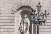 Barcelona city hall, İspanya — Stok fotoğraf