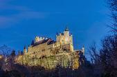 Alcazar of Segovia at Castile and Leon, Spain — Stock Photo