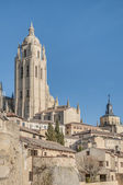 Segovia Cathedral at Castile and Leon, Spain — Stock Photo