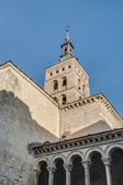 Saint Martin church at Segovia, Spain — Stok fotoğraf