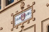 Edificio del municipio che si trova a sitges, spagna — Foto Stock