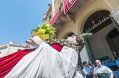 Gegant de la vila w festa major w sitges, hiszpania — Zdjęcie stockowe