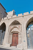 Aljaferia Palace at Zaragoza, Spain — Stock Photo