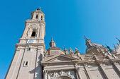 La Seo Cathedral at Zaragoza, Spain — Stock Photo