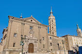 San Juan de los Panetes Church at Zaragoza, Spain — Stockfoto
