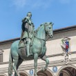 Stock Photo: Statue of Ferdinando I de Medici in Florence, Italy