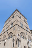 Orsanmichele is a church in Via Calzaiuoli in Florence, Italy. — Stock Photo