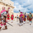 In GuardiParade at St. Jonh's Cavalier in Birgu, Malta. — Stock Photo #20238973