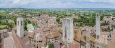 San gimignano-gesamtansicht in toskana, italien — Stockfoto