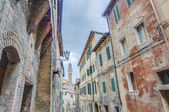Mangia Tower in Siena, Tuscany Region, Italy — Stock Photo