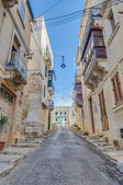 Southwest Street in Vittoriosa (Birgu), Malta — Photo