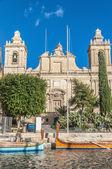 Saint Lawrence church in Vittoriosa (Birgu), Malta — Stock Photo