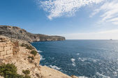 The Dingli Cliffs in Malta — Stock Photo