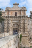 Main Gate in Mdina, Malta — Stock Photo