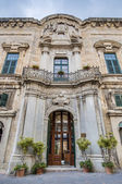 The Castellania building facade in Valletta, Malta — Stock Photo