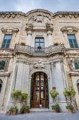 La castellania di costruzione facciata alla valletta, malta — Foto Stock