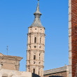 San Juan de los Panetes Church at Zaragoza, Spain — Stock Photo