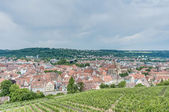 Esslingen am Neckar views from the Castle, Germany — Stock Photo