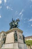 Ludwig i de estatua de Baviera en munich, Alemania — Foto de Stock